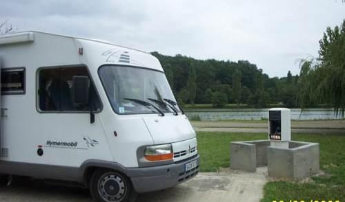 barbotan les thermes aire de camping car